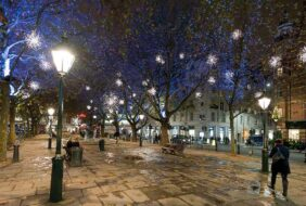 sloanne-square-and-duke-of-york-square-by-night